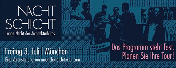 NACHTSCHICHT - Lange Nacht der Architekturbüros